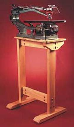 Scrollsaw Stand Woodworking Plan