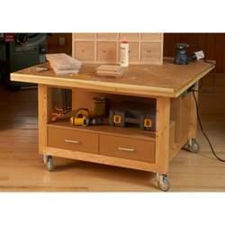 Reliably Rugged Assembly Table Woodworking Plan