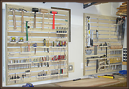 Workshop Tool Storage Idea Plans