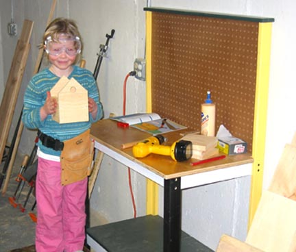child's workbench