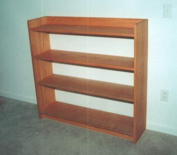 easy wood bookshelf plans