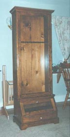 Free Gun Cabinet Woodworking Plans: Free Gun Cabinet Woodworking