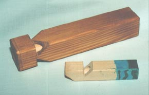 Train whistle woodworking plan