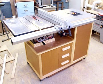 cabinet table saw which table saw to use in a small shop by wkndwrnch 13062