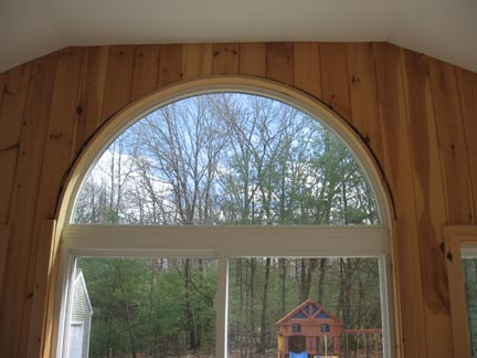 Make Curved Window Trim The Easy Way